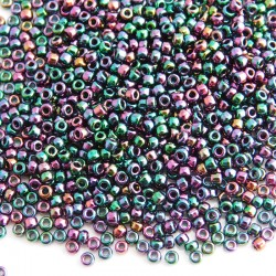 Matsuno 11/0 Seed Beads - Bronze Rainbow