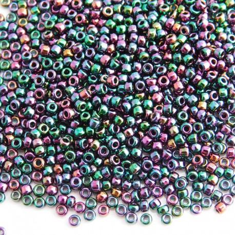 Matsuno 11/0 Seed Beads - Bronze Rainbow