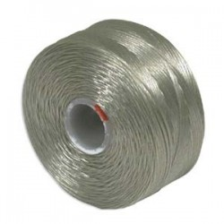 S-Lon D Bead Thread - Ash