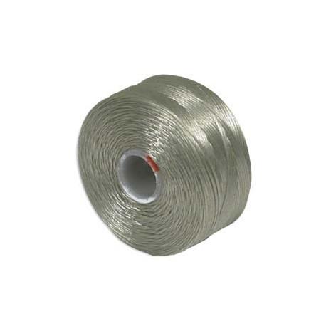 S-Lon D Bead Thread - Ash