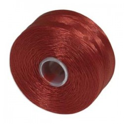 S-Lon D Bead Thread - Red