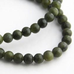 4.5mm Jade Round Beads - 37cm Strand