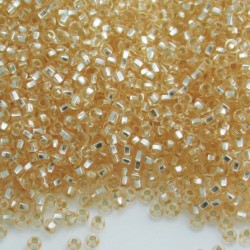 11/0 Czech Seed Beads - Champagne Silver Lined - 20g