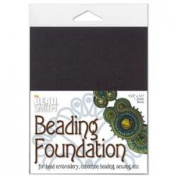 Beadsmith Black Beading Foundation 4.25 x 5.5 inch - Single Sheet