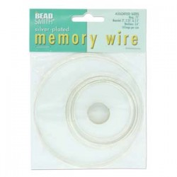 Memory Wire - Assorted Silver Plated