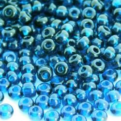 6/0 Czech Seed Beads - Montana Blue - 20g
