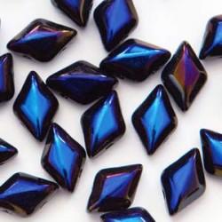 GemDuo Beads - Jet Azuro - 5g
