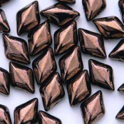 GemDuo Beads - Jet Bronze - 5g