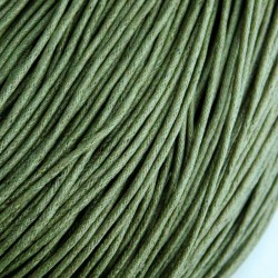 1.5mm Value Waxed Cotton Cord - Olive Green - 5m
