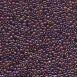 8/0 Czech Seed Beads - Garnet Matt AB - 20g