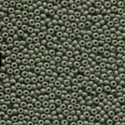 8/0 Czech Seed Beads - Opaque Grey - 20g