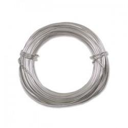18ga Beadsmith Aluminium Craft Wire - 12m