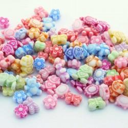 Mixed Shape Children's Acrylic Beads