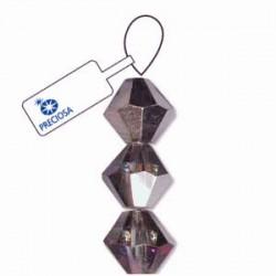 Preciosa 4mm Bicone Beads - Crystal Volcano - Pack of 31