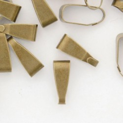 Bronze Tone Spring Bail - 11mm