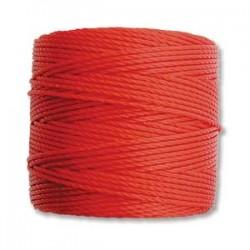 S-Lon Bead Cord - Shanghai Red - 70m