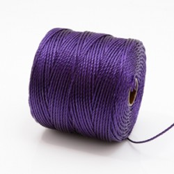 S-Lon Bead Cord - Purple - 70m
