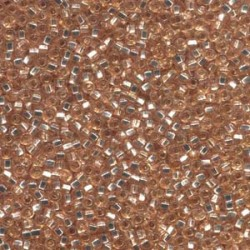 8/0 Czech Seed Beads - Champagne Silver Lined - 20g
