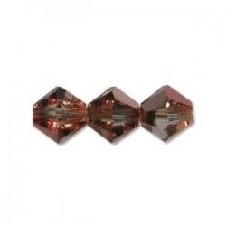 Preciosa 4mm Bicone Beads - Crystal Capri Gold - Pack of 144