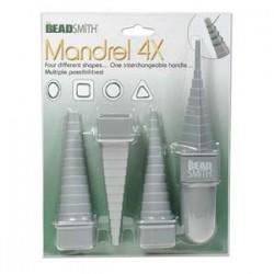 Mandrel 4X Wire Shaping Set - Beadsmith