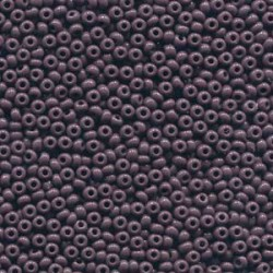 11/0 Czech Seed Beads - Opaque Purple- 20g