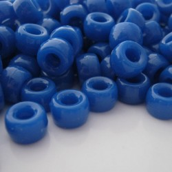 Pony Beads - Blue - Pack of 100