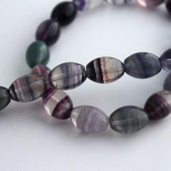 Fluorite Beads - Oval