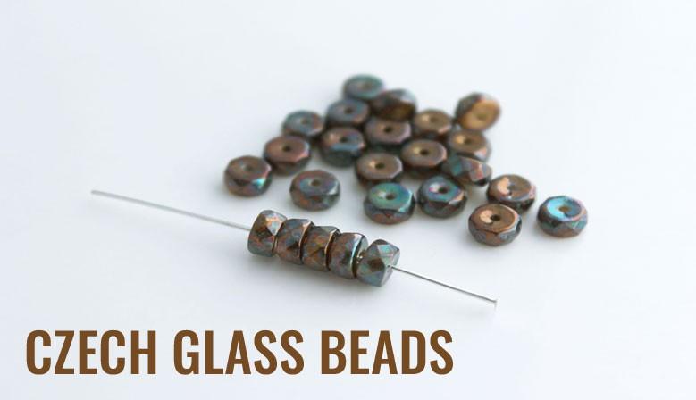 Czech glass beads!