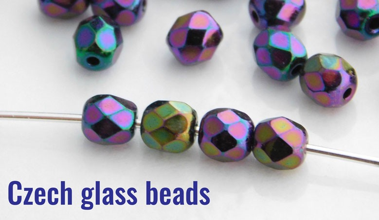 Czech glass beads!