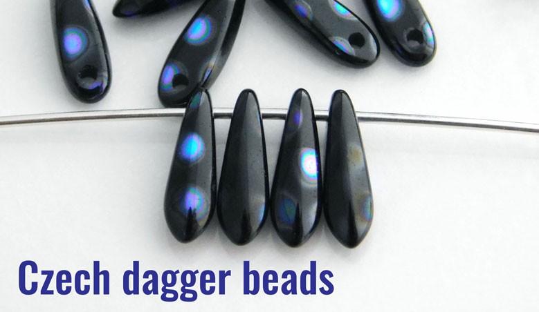 Czech Dagger Beads